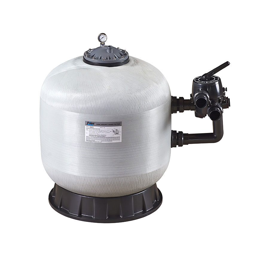 side mount pool sand filter