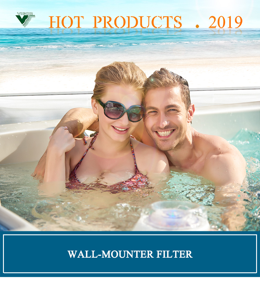 Hot pool swimming pool filter series